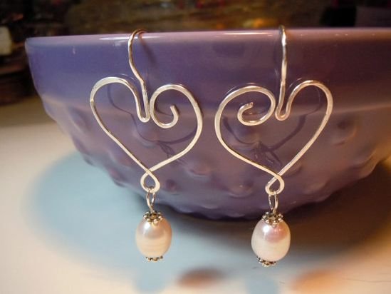 hearts, handmade jewelry