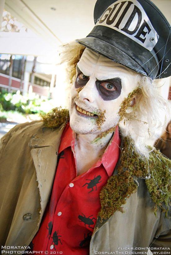 Beetlejuice Halloween costume ideas. creepy and impressive