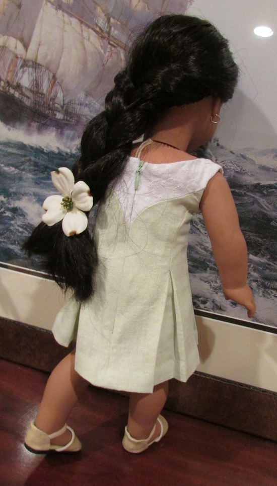 American Girl Doll dress for spring and summer by SewNowandThen, $38.00