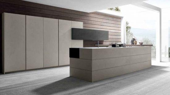 Simple Kitchen Design from Modulnova