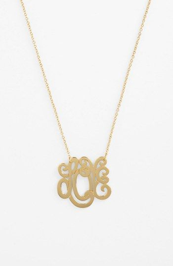 Ariella Collection 'Love' Pendant Necklace (Nordstrom Exclusive) available at #Nordstrom