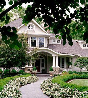 ? The landscape, the porch, the windows, the design