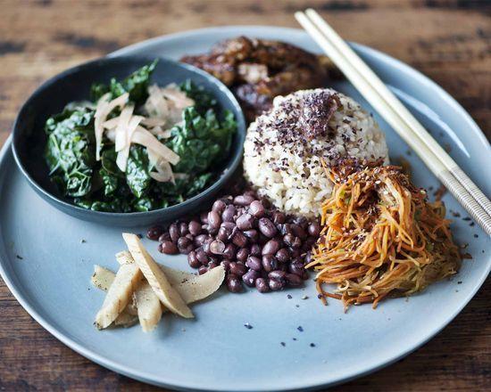 The Macrobiotic Plate #macrobiotics #cooking #recipes