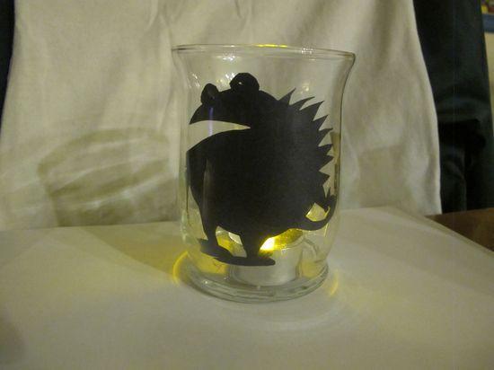 Huckleberry Love: Kids Halloween Activities {Guest Post from Education.com}- Glowing Monster Light