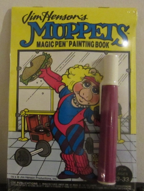 Magic Pen Painting Books were awesome! #Muppets #vintage #retro #toys #nostalgia #1980s
