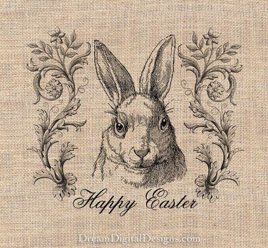Happy Easter Bunny Rabbit