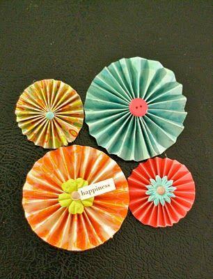 Paper medallions