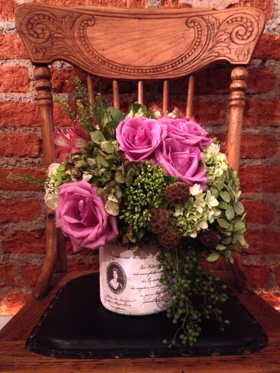 #antique #wedding #centerpiece #flowers #arrangement