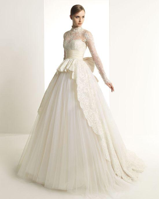 Long Sleeved Wedding Dress  Zuhari Murad for Rosa Clara 2013