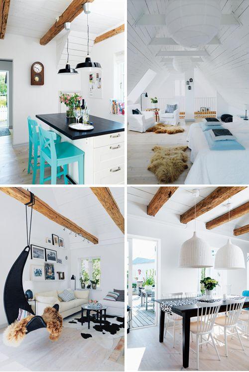 beautiful summer house, located in the village of Simris Österlen in Sweden