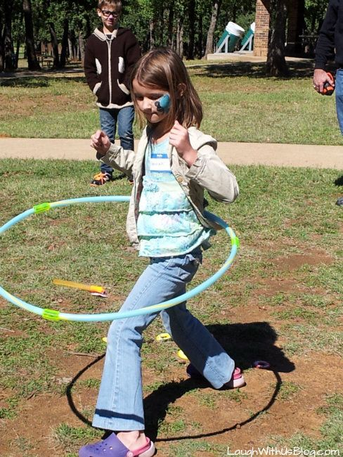 Fun at the company picnic ~LaughWithUsBlog