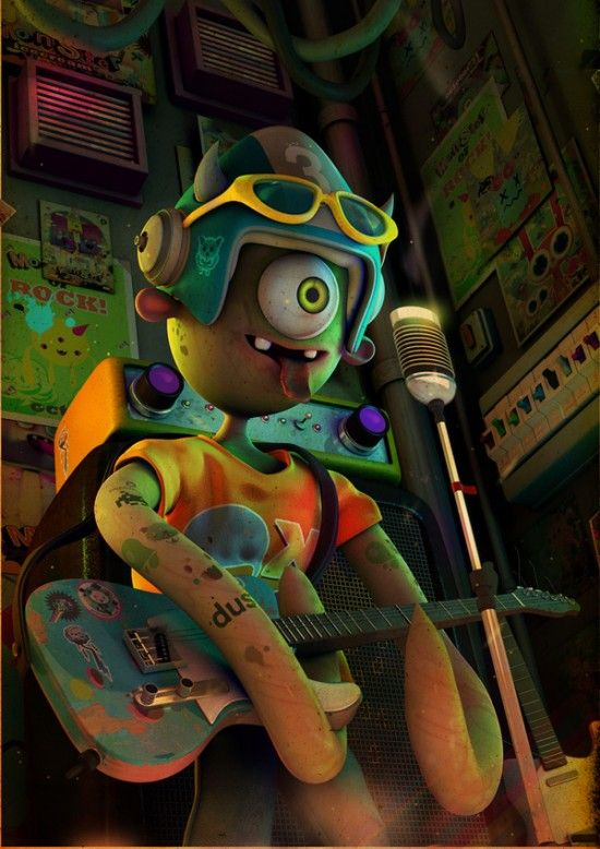 27 Awesome 3D Character Designs and 3D Illustrations for your inspiration. Follow us www.pinterest.com...