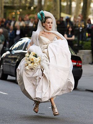 THE dress. Carrie Bradshaw in Vivienne Westwood.