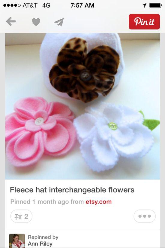 Cute handmade flowers