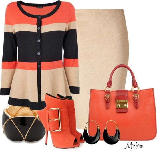 """Color Block"" by mrsbro on Polyvore"