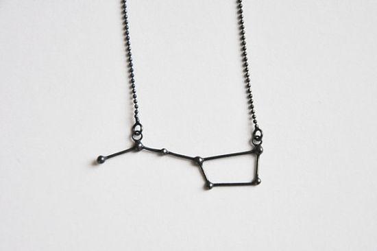 Ursa Major / Big Dipper Necklace