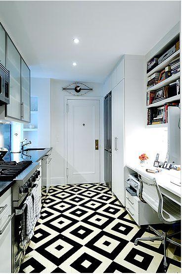 Cool painted floor