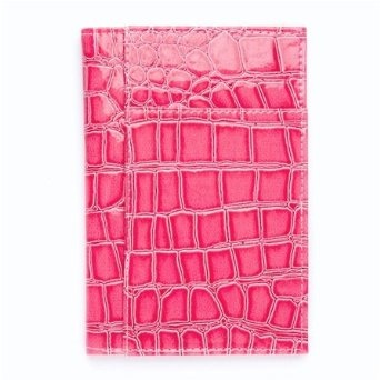 Pink Alligator Croc Print Passport Cover Holder travelfashiongirl...  #travel #accessories