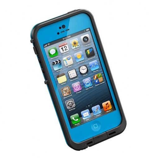 The new colors collection from Lifeproof, now available for iPhone 5 users. A must-have for travel since it's completely waterproof, dustproof, pretty much everything proof.