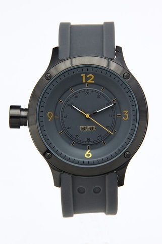 Grey/gold watch