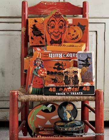 Awesome vintage Halloween stuff.