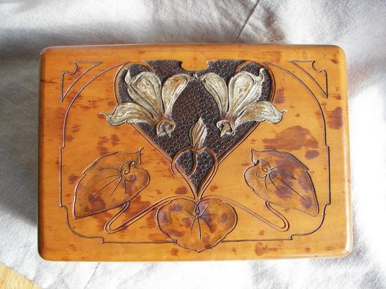 Art Nouveau designed box