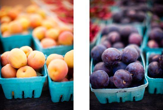 bright summer fruit