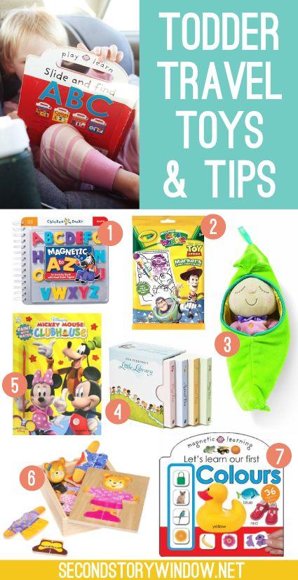 Toddler Travel Toys & Tips