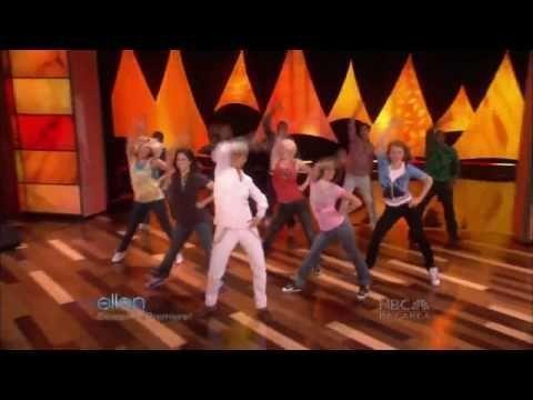 "Funny :)   ellen degeneres + sytycd dancers ""i know #shakira she wolf #funny kids #cinnamon challenge #funiest cat scares #annoying orange"