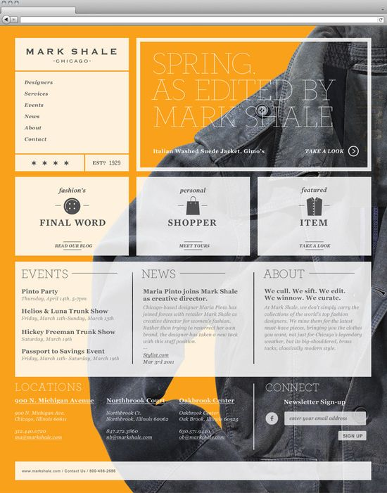 cool web design
