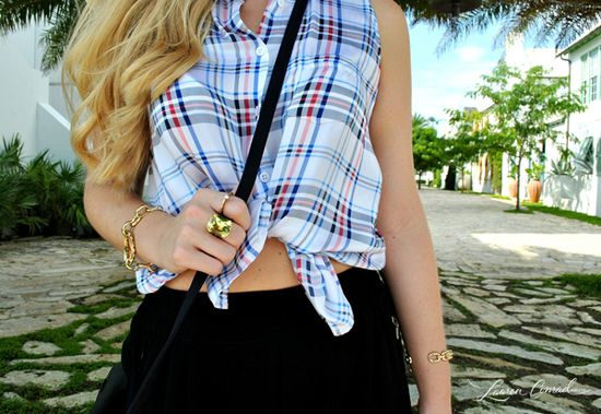 Fit to be tied! A few easy ways to spice up your summer style