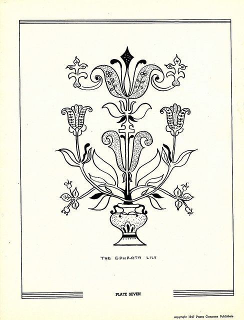 great flickr group for free vintage embroidery patterns