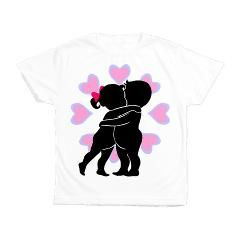 Shadows of Love Kid's All Over Print T-Shirt > Shadows of Love - Clothes > Jeannie Rose