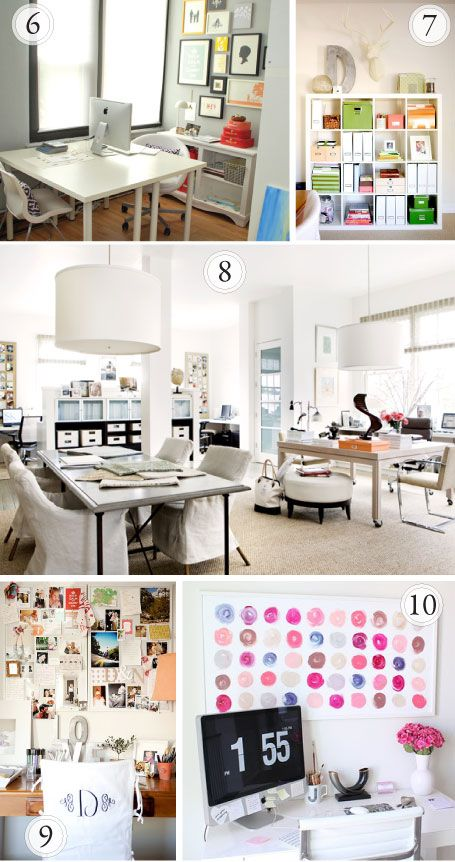 I would get so much done if I had a creative space like one of these.