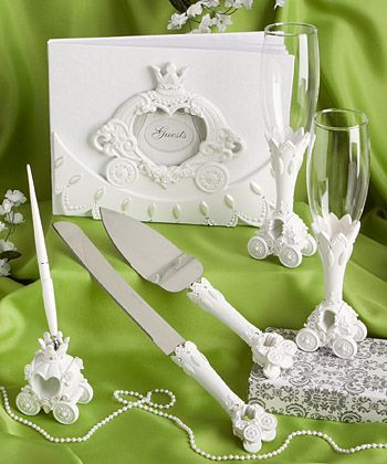 Cinderella wedding set