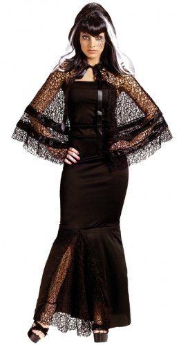 Fun World Sexy Womens Black Widow Victorian Halloween « Clothing Impulse