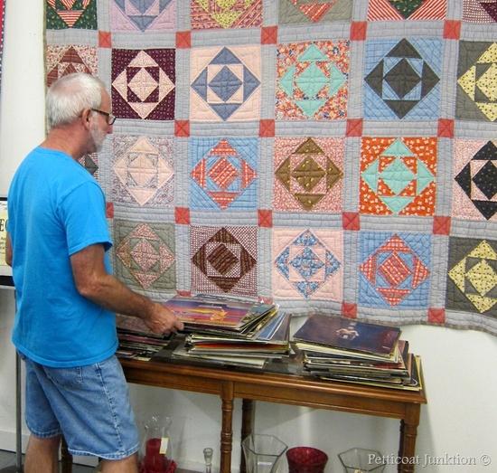 handmade quilt, Petticoat Junktion