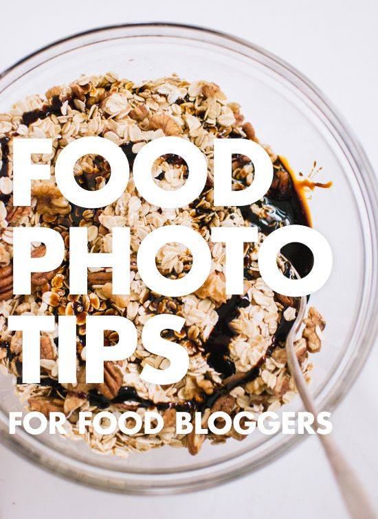 Food Photography Tips For Food Bloggers.