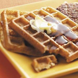 Apple Spice Waffles Recipe