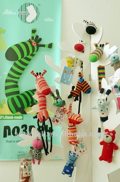 NO3NO4 horse handmade sock dolls gift,N08ZO091-009B