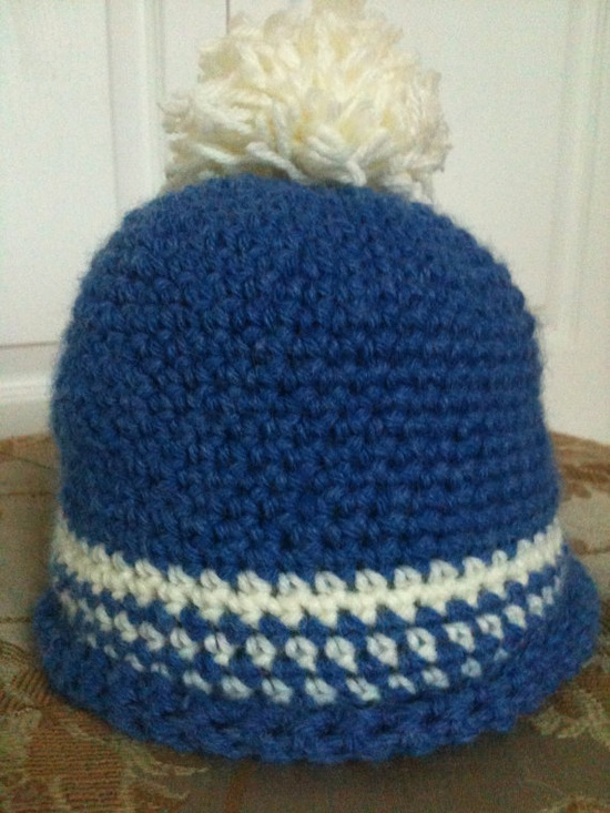 baby boy hat. Carsten needs some of these for his big head!!