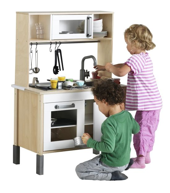 Gifts for Kids - From playing house to opening their own restaurant, kids will love playing pretend with the DUKTIG mini-kitchen.