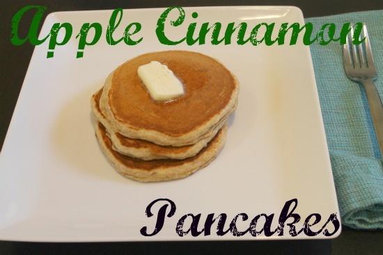 Simple ingredients, including Apple Cinnamon Chobani!