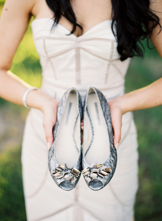 Shoes by Vera Wang /   Photography by stewartleishman.com