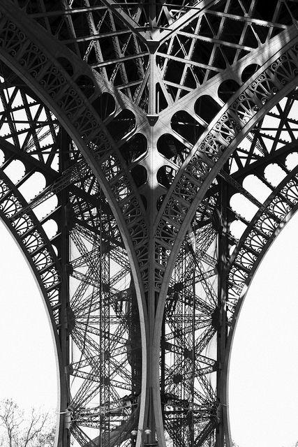 Paris, Eiffel Tower, by Rhett Redelings.