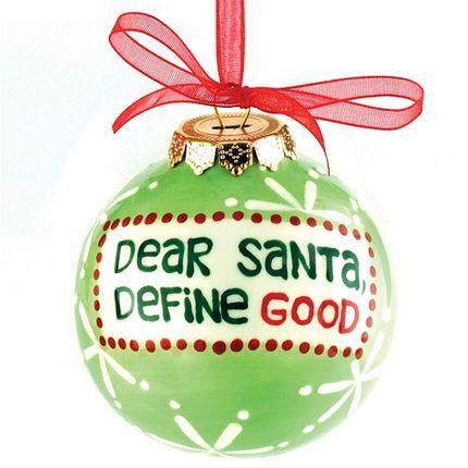 Christmas Ornament...Too Cute!