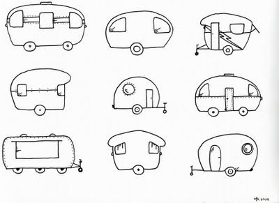 camper embroidery patterns