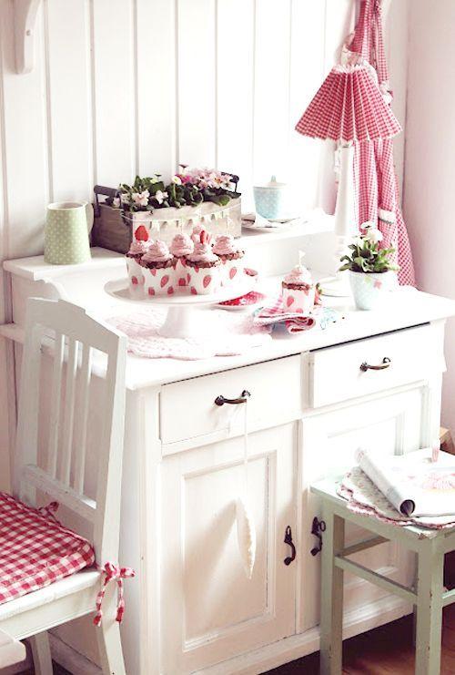 Shabby Chic Kitchen - myshabbychicdecor... - #shabby chic #home decor #design #ideas #wedding #living room #bedroom #bathroom #kithcen #shabby chic furniture