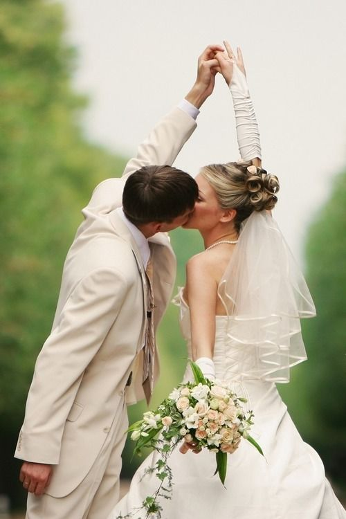 cute wedding photo idea