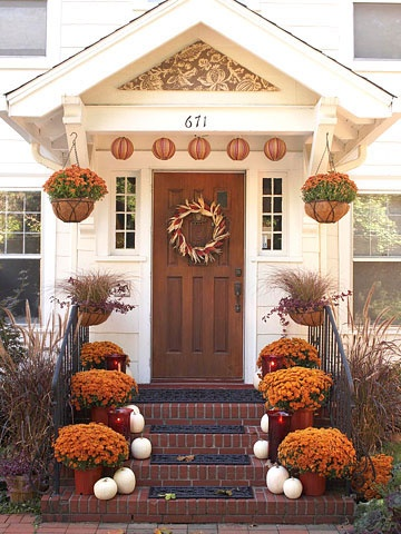 Maybe someday my front porch will look this inviting